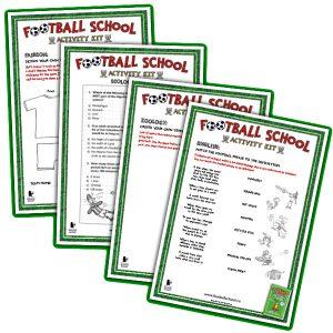 Football School activity sheets